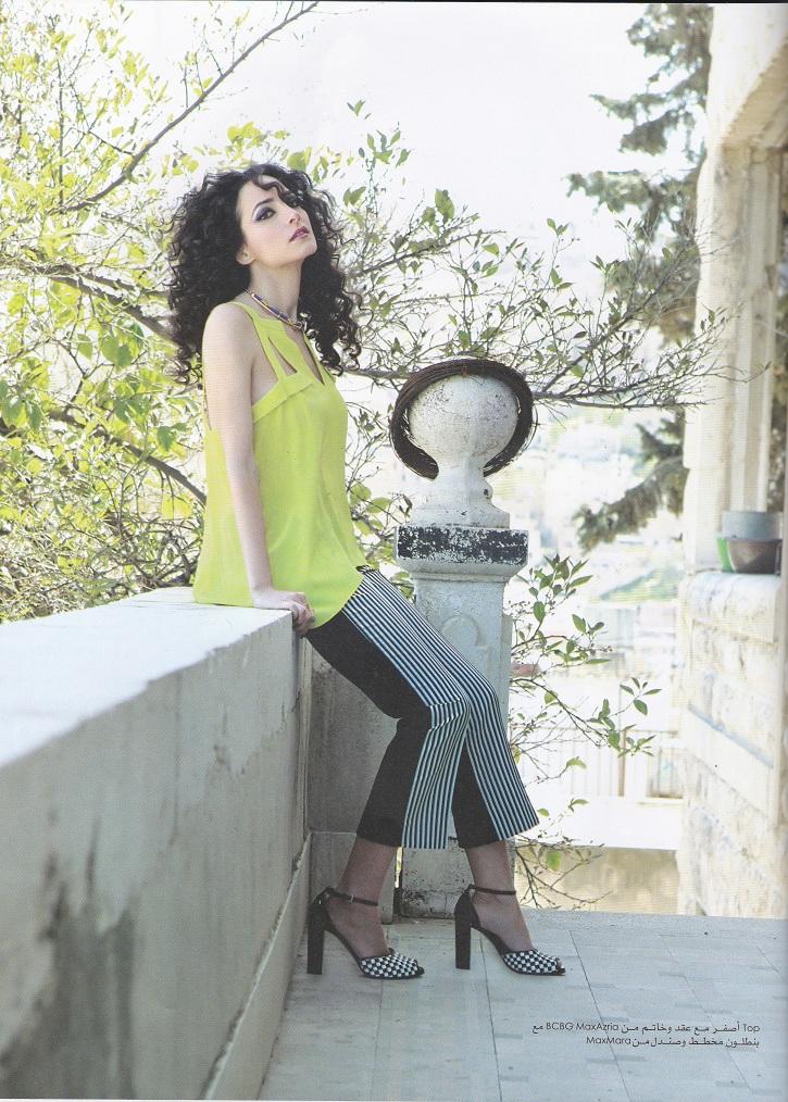 a9f4b3946ab08 Abeer ElSheikh – Layali Amman Magazine